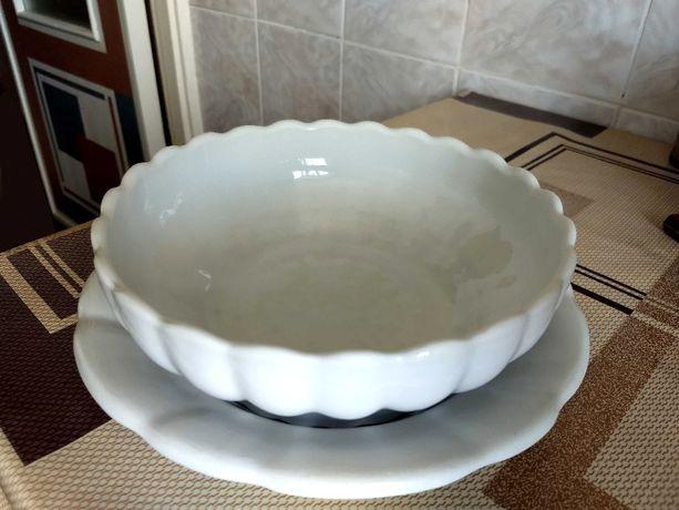 Австрийская коллекционная тарелка и салатник - NL Frauenthal, 30-е год