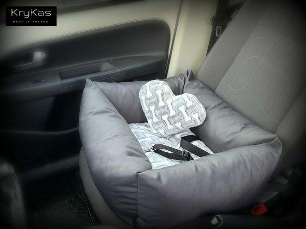 Legowisko do auta, fotelik samochodowy dla psa NOWOŚĆ