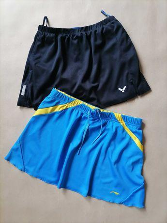 Li-ning и victor спортивные юбочки для большого тенниса на размер xs-s