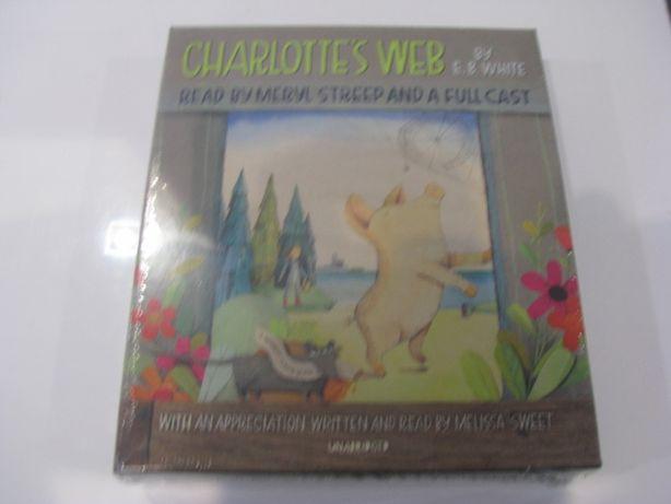 Nowy audiobook Charlottes Web-język angielski