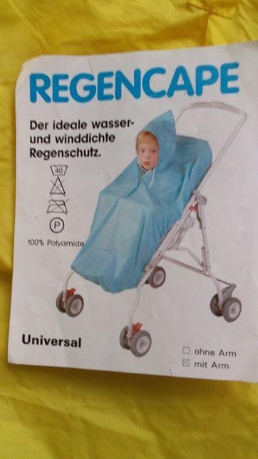 Накидка-дождевик на детскую коляску-Reinwald