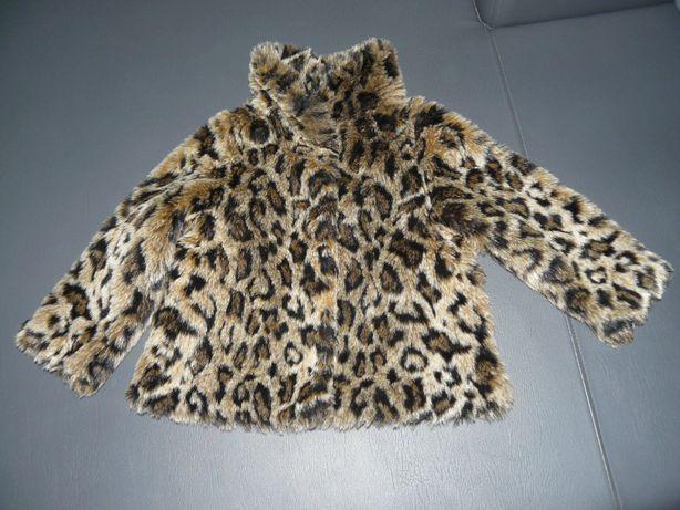 H&M panterka kożuszek r. 104 na 3-4 latka futerko wiosna - jesień