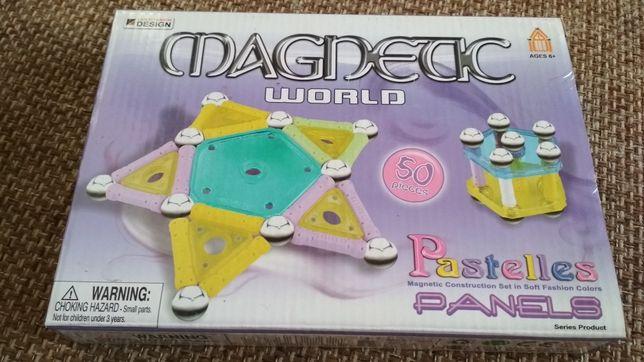 Магнитный конструктор 50 деталей