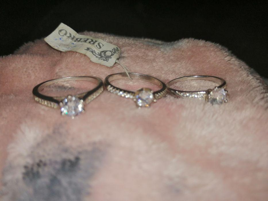 Srebrny pierścionek nowe Zabrze - image 1