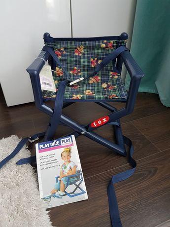 Krzeselko dla dzieci adapter Play Dire nowe