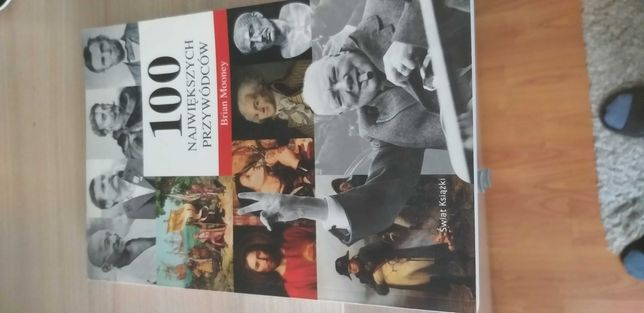 Książka 100 największych przywódców.