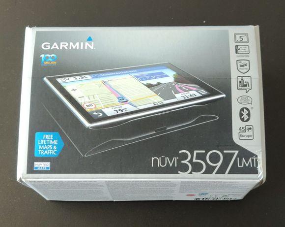 Nawigacja Garmin NUVI 3597 LMT seria Premium b. dobry stan Bielsko-B