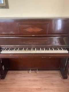 Pianino August Förster Löbau Sachsen antyk