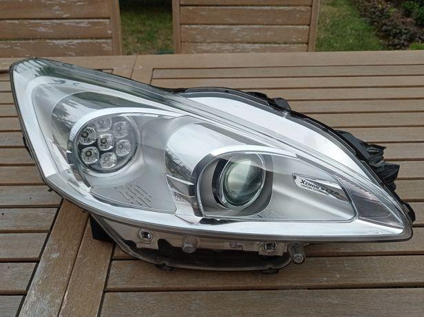 Lampa bi Xenon skrętny LED Peugeot 508 Prawa Valeo Kompletna Europa