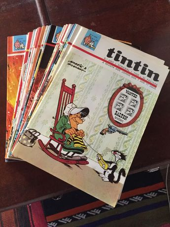 Revista Tintin - Nºs 27 a 52 do 5º ano