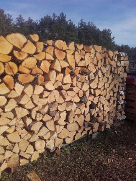 Drewno kominkowe, opałowe Dąb, Buk, Sosna, inne gatunki