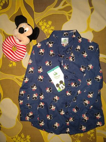 Рубашка Disney 12-18m