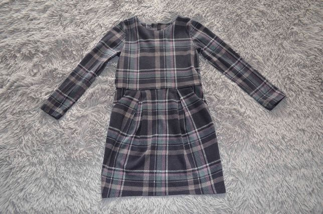 Школьное платье H&M. На рост 128 см.