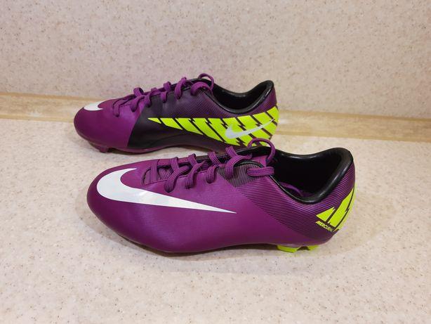 Бутсы Nike новые 34 р