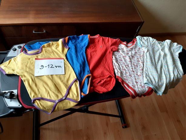 mega paka ubranka dla chłopca 3-12 miesięcy