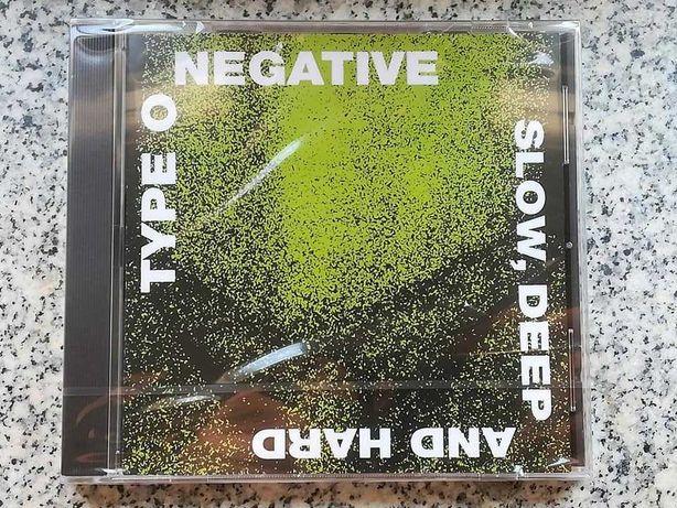 Cds de Type O Negative e Swallow The Sun (novos)