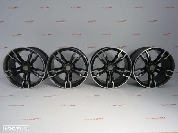 Jantes Look Bmw Style668M 20 x 8.5 et 27 + 9.5 et 40 5x112 Pretas  BMW G30 G31