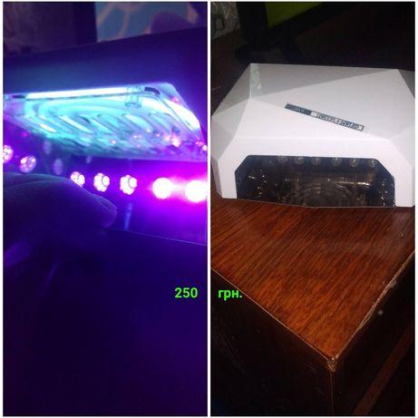 Гибридная УФ лампа для геля