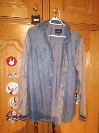 Camisa Homem Ganga efeito casaco Springfield