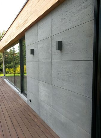 Beton architektoniczny Płyty betonowe na elewacje Ogrodzenia z betonu