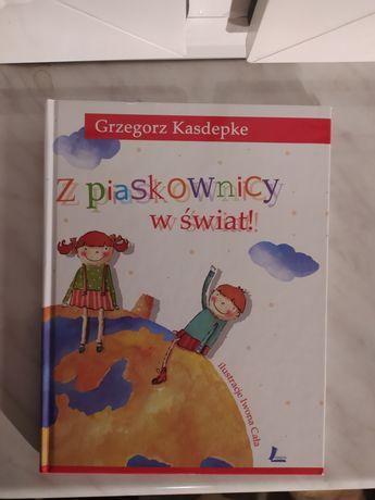 Książka - Z piaskownicy w świat - Grzegorz Kasdepke