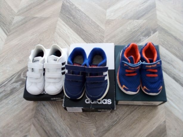 3 pary butów adidasy adidas rozm 25