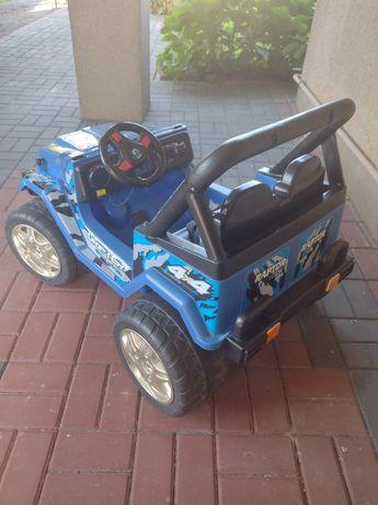 Samochód elektryczny JEEP dwu osobowy