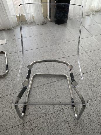 cadeiras ikea transparentes