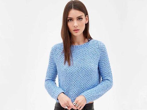 Вязаный свитер forever 21