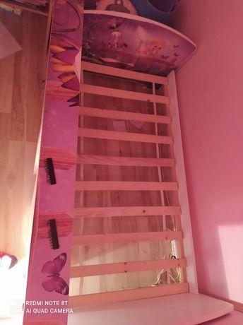 Łóżko dziecięce dziewczęce 160 x 80