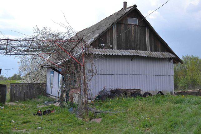 Продам участок с домом с.Хомутец Брусиловского р-н Житомирской обл
