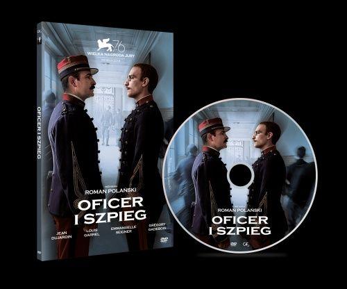 DVD OFICER I SZPIEG - Roman Polański - lektor i napisy  - folia