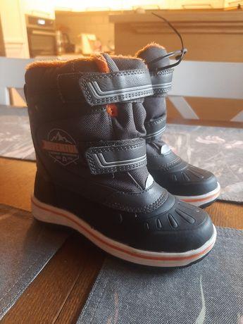 Buty zimowe śniegowce Nowe 25 16.5cm