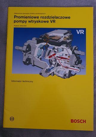 Promieniowanie rozdzielaczowe pompy wtryskowe VR poradnik Bosch