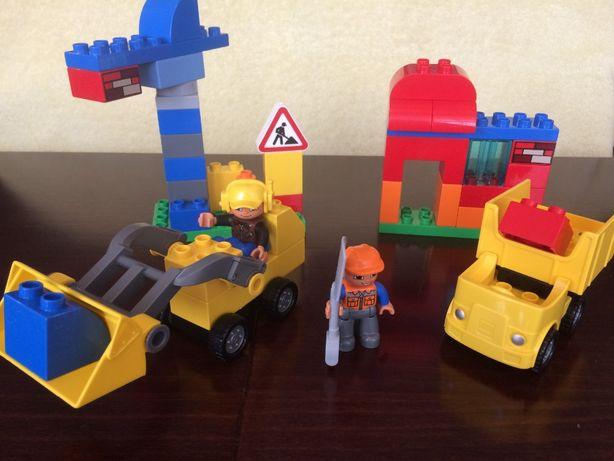 Lego Duplo - Mój pierwszy plac budowy 10518 (koparka, ciężarówka)