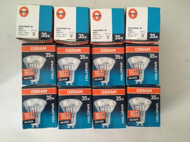 12 Lâmpadas - Osram - Halopar 16 - 35w (halogénio)