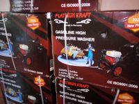 Máquina lavar de alta pressão 242Bar Gasolina 4 Tempos 6,5HP Nova em c