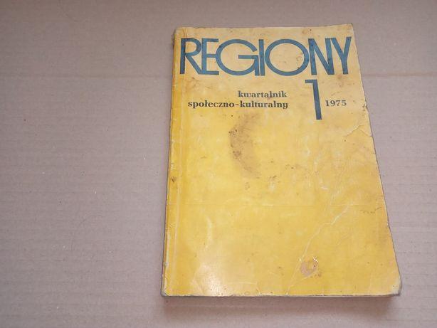Regiony kwartalnik społeczno-kulturalny Nr.1/1975r.