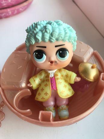 Кукла с шаром Лол мальчик Boys L.O.L Surprise his royal high принц це