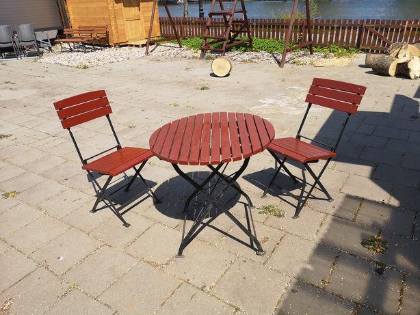 Stoły krzesła zestaw mebli ogrodowych