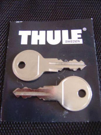 Thule zamki, wkładki, klucz box, bagażnik dachowy, bagażnik rowerowy
