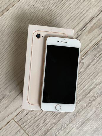Iphone 8 64gb złoty idealny