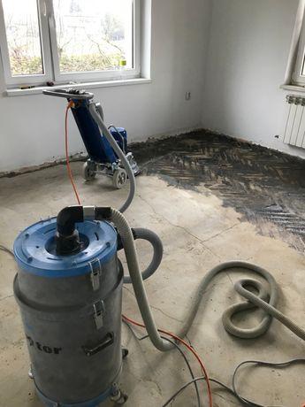Szlifowanie, frezowanie, polerowanie betonu, usuwanie subitu, kleju