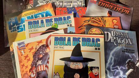Livros de banda desenhada (Marvel, manga, etc) - preço por tudo