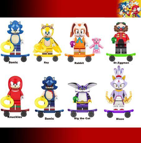 Bonecos / Minifiguras Sonic nº9 - compativeis com Lego
