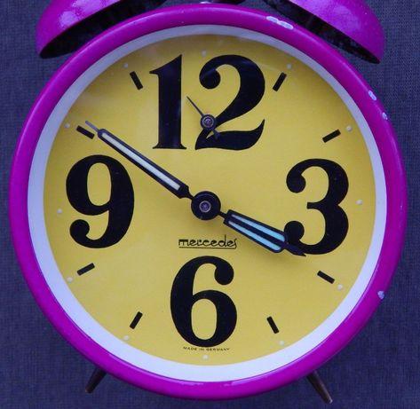 будильник, часы Mercedes, механика, Германия
