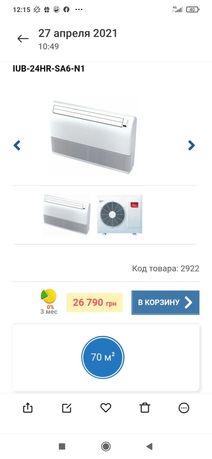 Напольно - потолочный кондиционер IDEA IUB-24HR-SA6-N1