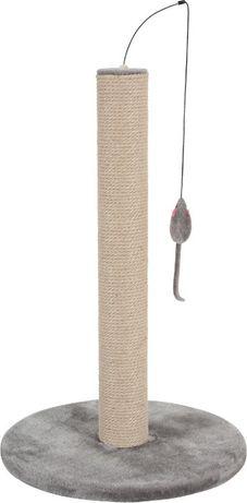 Zolux DRAPAK Sizalowy z MYSZKĄ mysz 63cm SZARY
