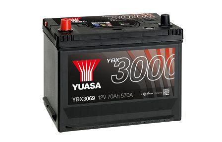 Akumulator YUASA YBX3069 70Ah 570A Promocja!!! L+