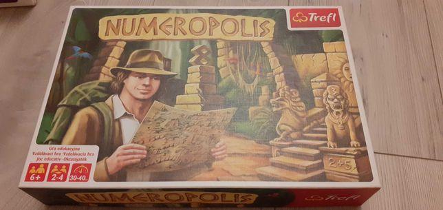 Trefl Numeropolis gra planszowa 6+ jak nowa